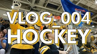 The First MTU Hockey Game - Jack's Vlog