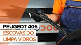 Como substituir Jogo de maxilas de travão PEUGEOT 406 Break (8E/F) - vídeo guia