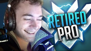Retired OW PRO: DAFRAN! - BEST OF: GODLIKE Aim (200 IQ) TRACKING & PLAYS