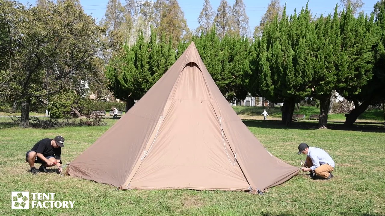 ワン ポール ファクトリー テント テント