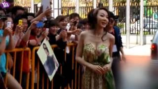台灣第一美女48歲 蕭薔曬爆乳身材超好 秀鉛筆腿和腹肌