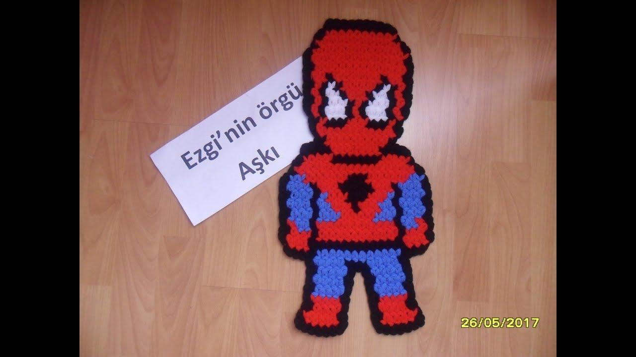Örümcek Adam Çocuk Patik Modeli