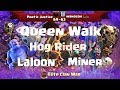 Poetic Justice VS WANASAH... | Queen Walk, Miner, Hog, Laloon| 3 Stars TH11 |ClanVNN #303