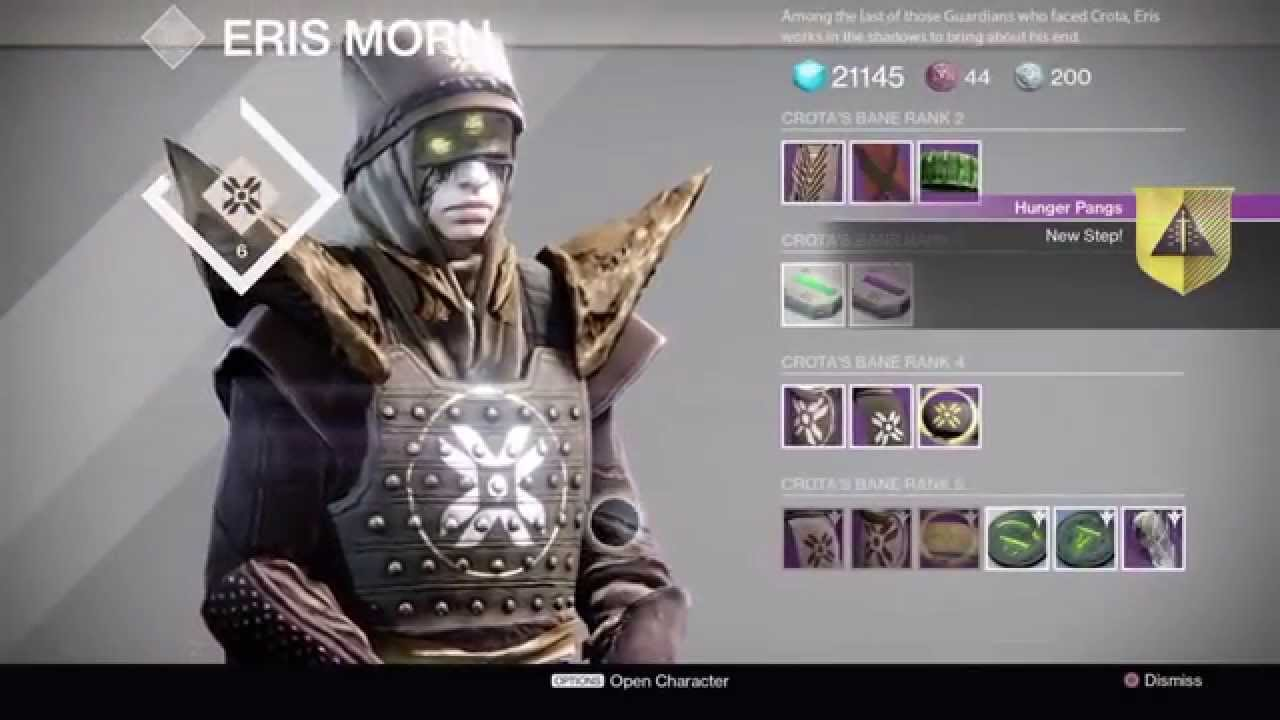 Destiny - Touch of Malice Quest Part 9: Hunger Pangs - Fear's ...