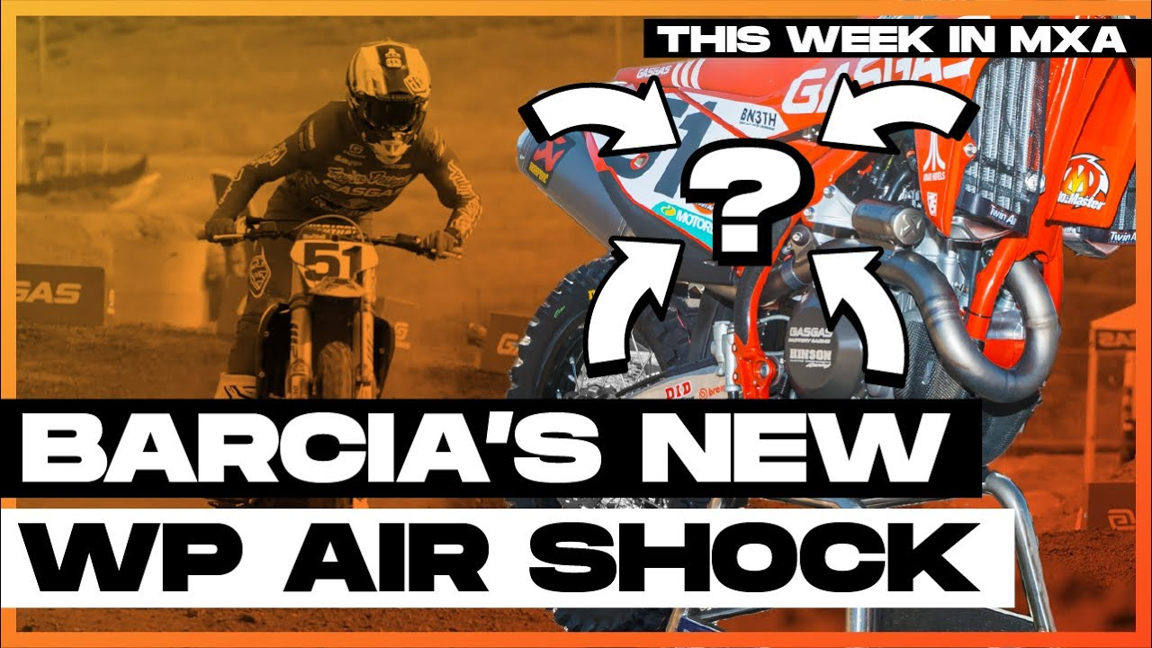 Barcia's WP Air Shock and Insight Into Supercross