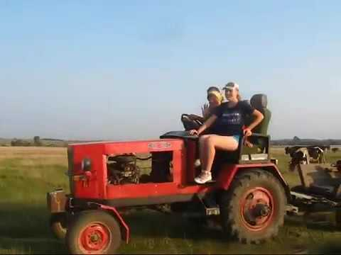 Трактор Из Старого Москвича