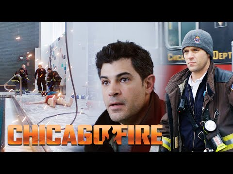 Firetruck 81 Respond To An Electrocution At A Pool | Chicago Fire