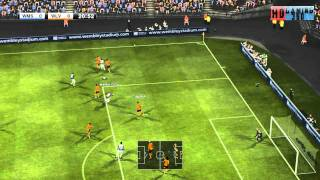 PES 2012 West Brom VS Wolverhampton Wanderers 1ST Half HD