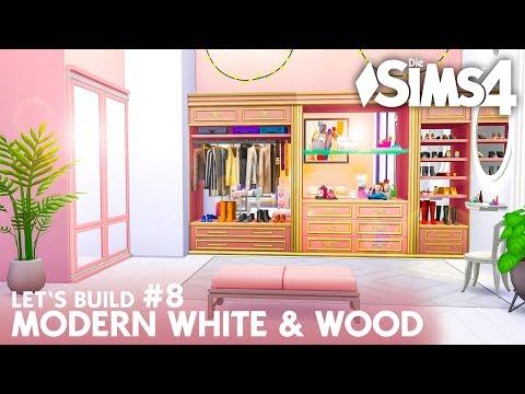 Teen Girl Schlafzimmer   Modern White & Wood Villa #8 - Haus bauen (deutsch)