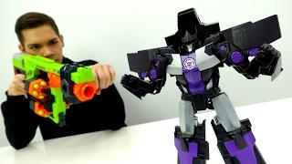 #Трансформеры: Автоботы против армии машин Мегатрона! Видео для мальчиков