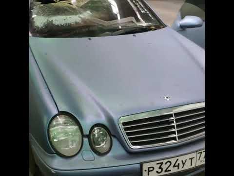 Проект реставрации Mercedes-Benz CLK 230 Kompressor W208