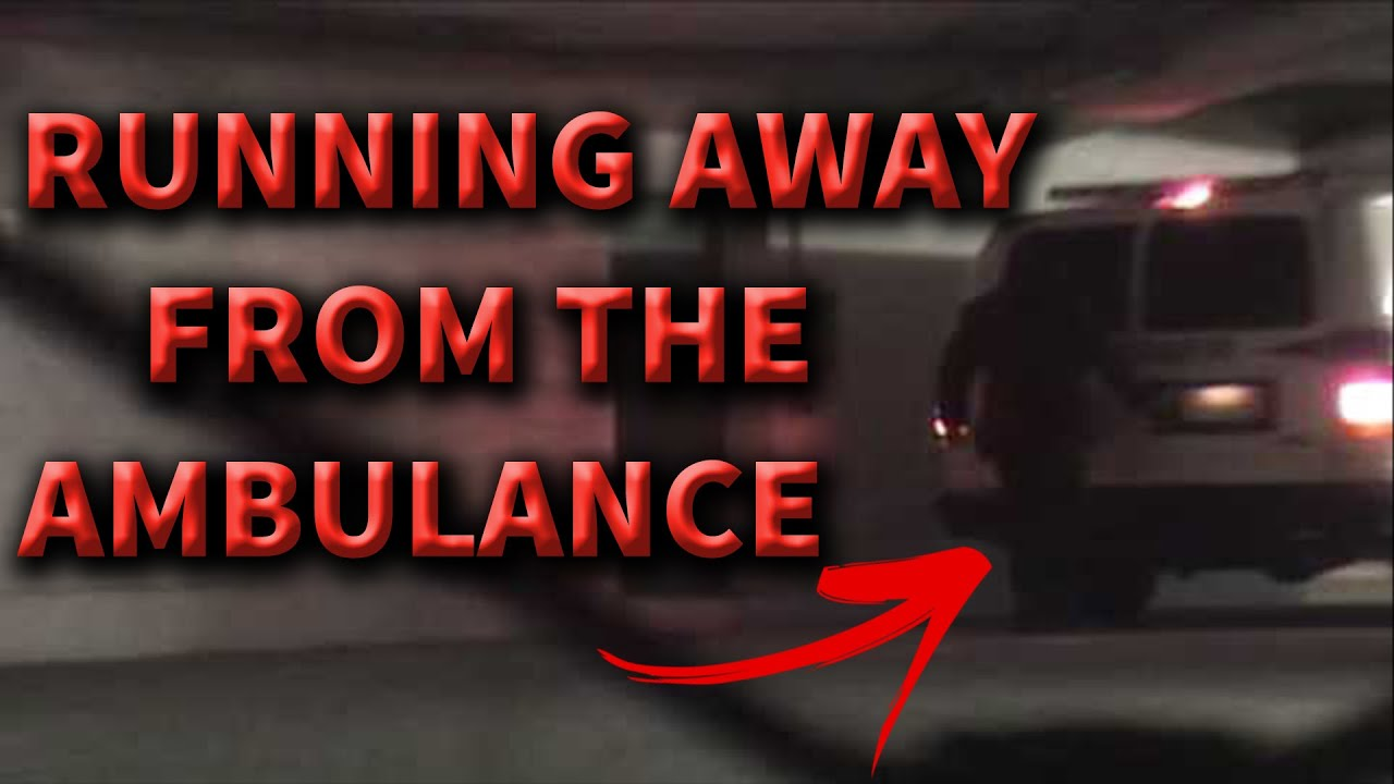 Michael Jackson is ALIVE? Did he really run away from the ambulance behind?