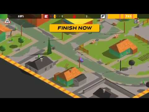 Splash Cars (by Craneballs) - racing game for android - gameplay.