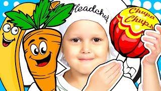 Игрушечная еда против настоящей ВЛАДЕЛЕЦ СУПЕРМАРКЕТА Все как в настоящем магазине Видео для детей