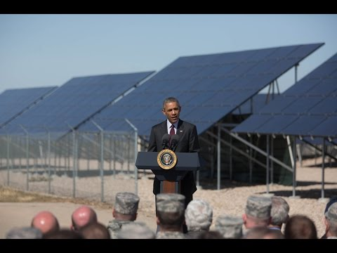 President Obama Speaks on Jobs in America's Solar Energy