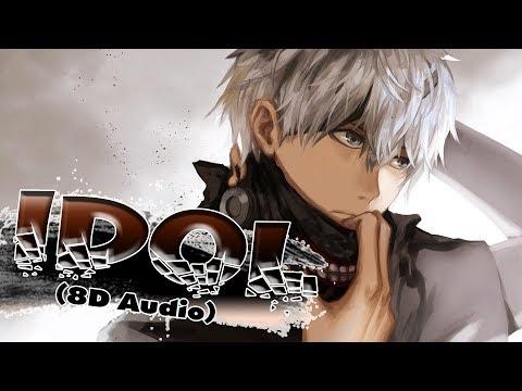 Nightcore - Idol (8D Audio Use Headphone🎧)
