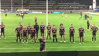 Issac Luke warriors Haka