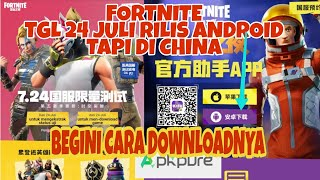 Download FORTNITE MOBILE ANDROID Date 24 July without on PLAY STORE!!!