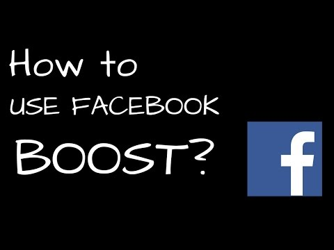 what is facebook boost page | How to use facebook boost post - {Hindi / Urdu}