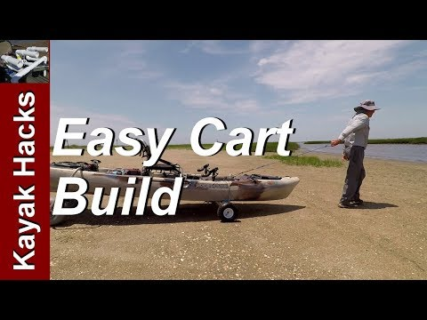 How To Build A Kayak Cart Or Kayak Dolly