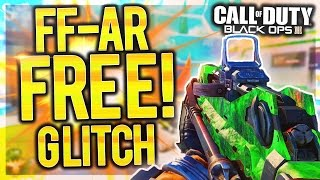 famas free glitch how to get the new ffar dlc gun instantly free try ffar glitch private match