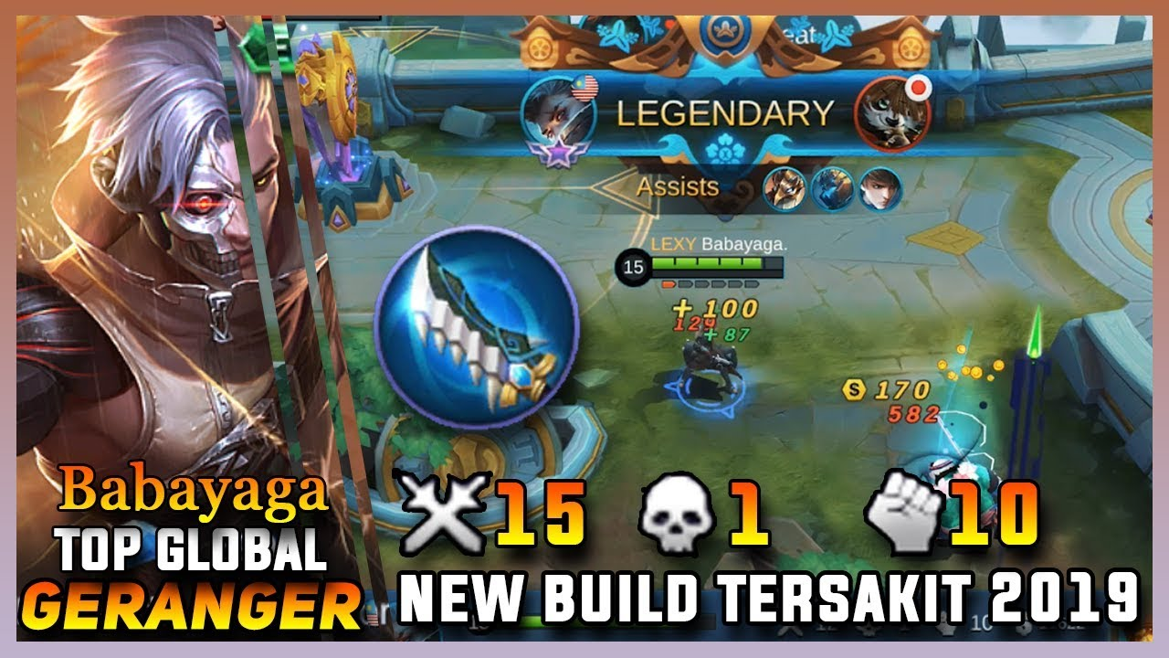 Download [NEW UPDATE] Build Granger Tersakit 2019 Terbaru - Mobile Legends