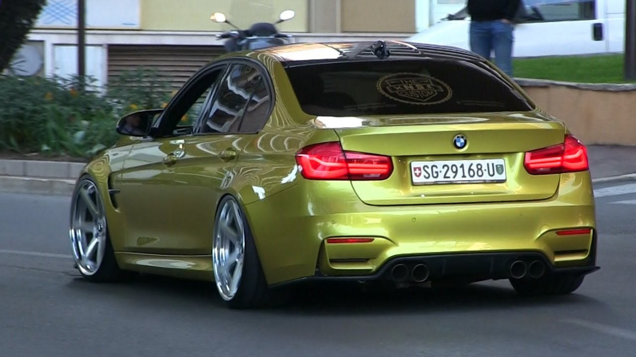 Crazy Spec Bmw M3 F80 In Monaco Loud Pops And Bangs Youtube