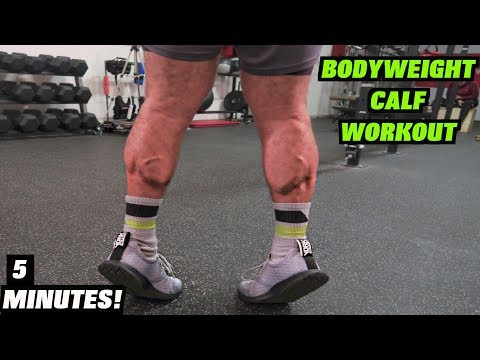 Intense 5 Minute At Home Calf Workout #2