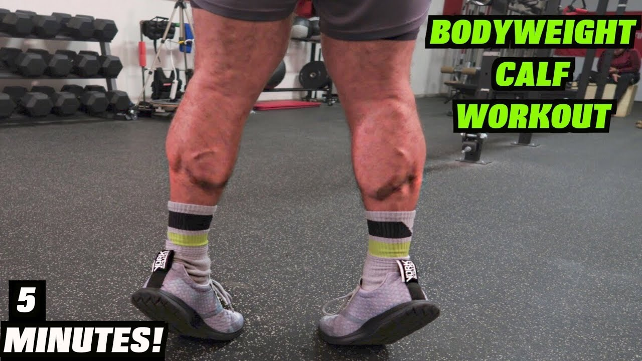 Intense 5 Minute At Home Calf Workout 2