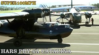 HARS PBY-6A Catalina - Landing & Taxi