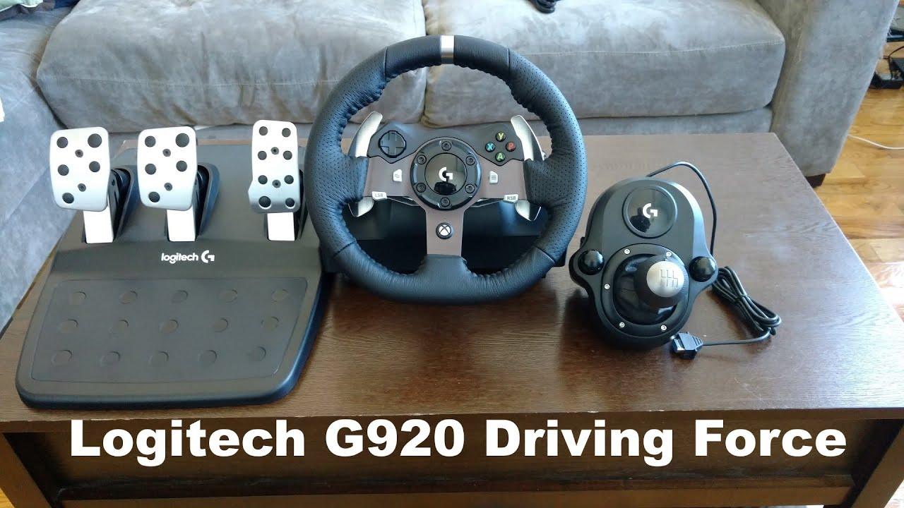 Logitech G920 Driving Force Review Forza 6 Youtube