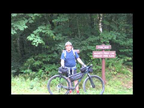 Mark and Michael Bikepack Baxter State Park