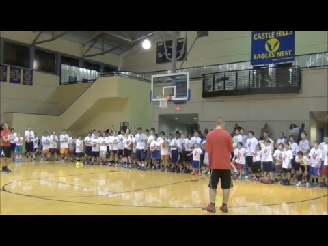 Floppy Shooting Drill With Danny Green At San Antonio Basketball Camp