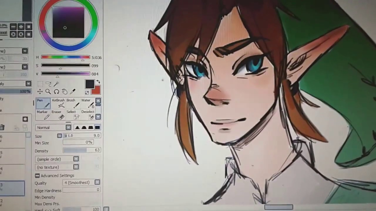 Drawing Smooth Lines With A Tablet : Art how to get smoother lines strokes wacom tablet youtube