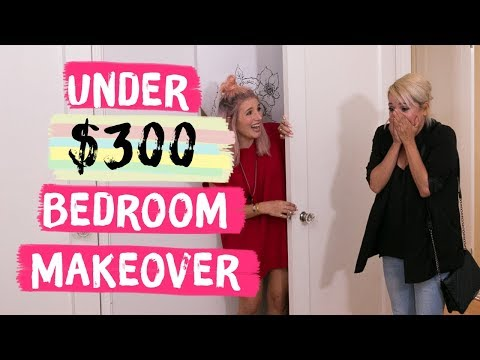 Under $300 Bedroom Makeover | Mr. Kate Decorates on a Budget