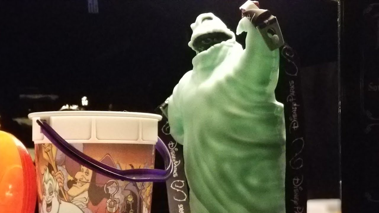 Oogie Boogie Halloween Party.Mickey S Halloween Party 2017 Getting Oogie Boogie Popcorn Bucket Disneyland