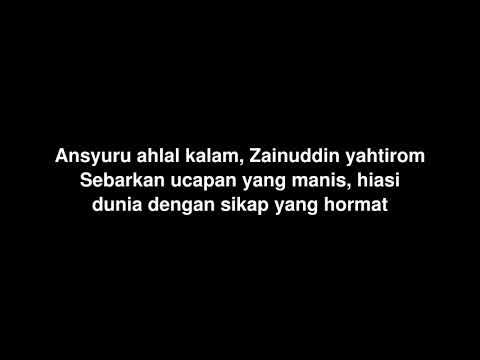 Lirik Lagu Nissa Sabyan   Deen Assalam Beserta Artinya