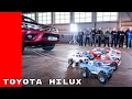 2017 Toyota Hilux Truck vs Tamiya RC Hilux