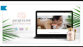 Jacqueline Wordpress Theme Review & Demo | Spa & Massage Salon Beauty WordPress Theme | Jacqueline Price & How to Install