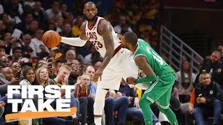 LeBron James and Cavaliers need to be concerned about Celtics | First Take | ESPN thumbnail