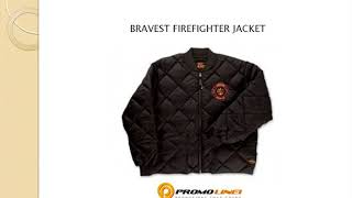Men's Jackets Set | Black Bravest Firefighter Jacket