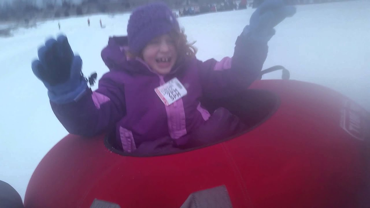 Winter Blizzard adds fun to Nighttime Snow Tubing!
