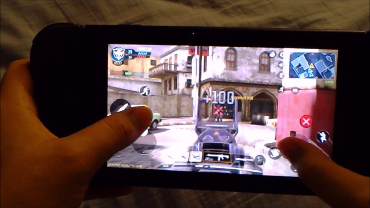 Playing Call Of Duty Mobile On Nintendo Switch Youtube