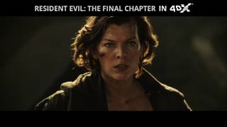 Resident Evil: The Final Chapter 4DX Trailer
