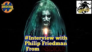 Interview With Insidious Actor Philip Friedman - The Old Woman at Comikzae 2015