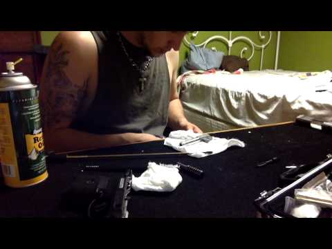how to clean a ruger sr9c