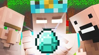 Top Minecraft Songs: The Diamond King! Funny Minecraft Animations Video [Music Jams of August 2017]