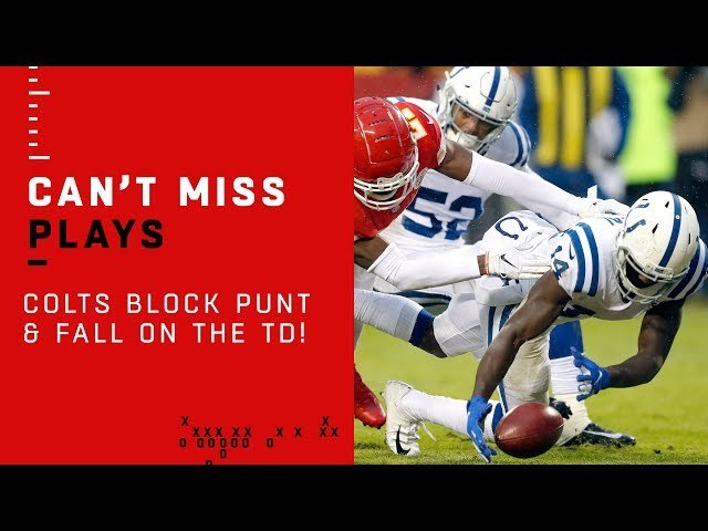 Colts Punt Block TD is Just What the Doctor Ordered!!!