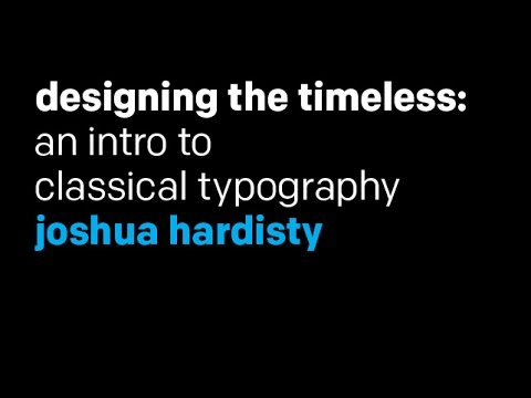 Intro to Typography: Classical Typography—from the Renaissance to Jan Tschichold