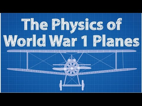 The Physics of World War 1 Planes feat. The Great War Channel
